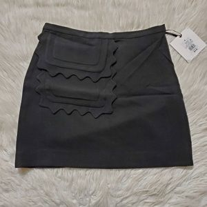 Victoria Beckham for Target Black Mini Skirt